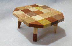 寄木のミニちゃぶ台