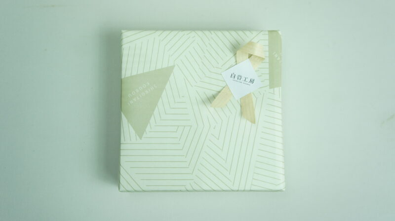 包装紙を制作しました。